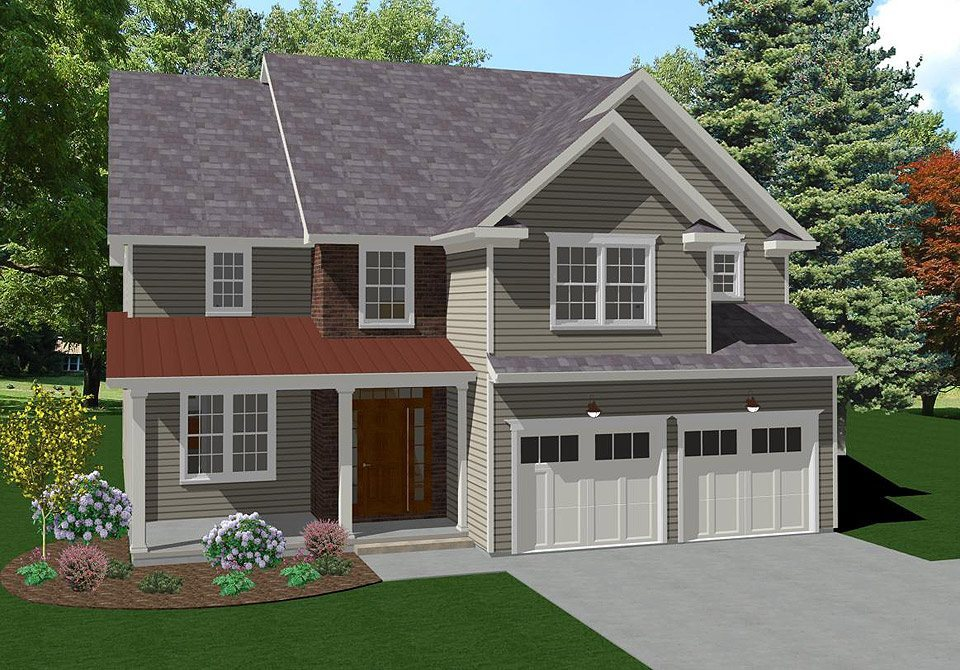 Ready To Build Home In Keswick Pointe Community
