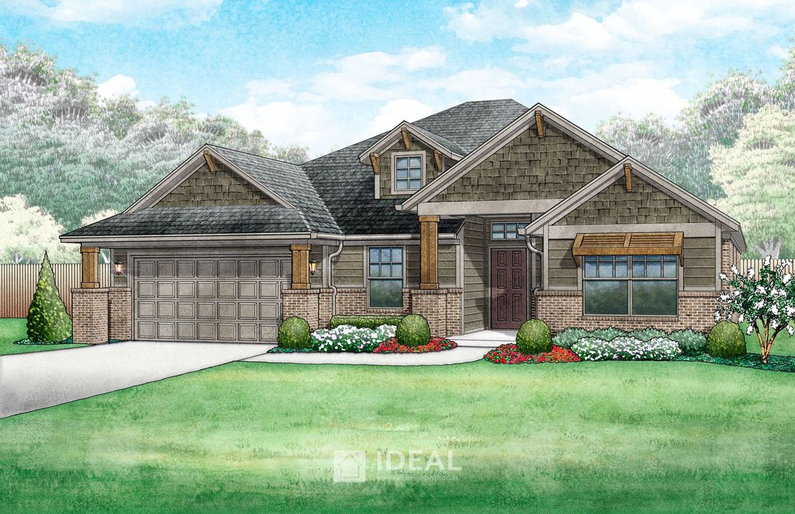 Ready To Build Home In Somers Pointe Community