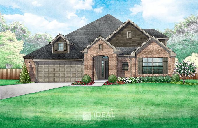 Ready To Build Home In Red Canyon Ranch Community