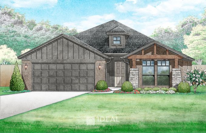 Ready To Build Home In Greenleaf Trails Community