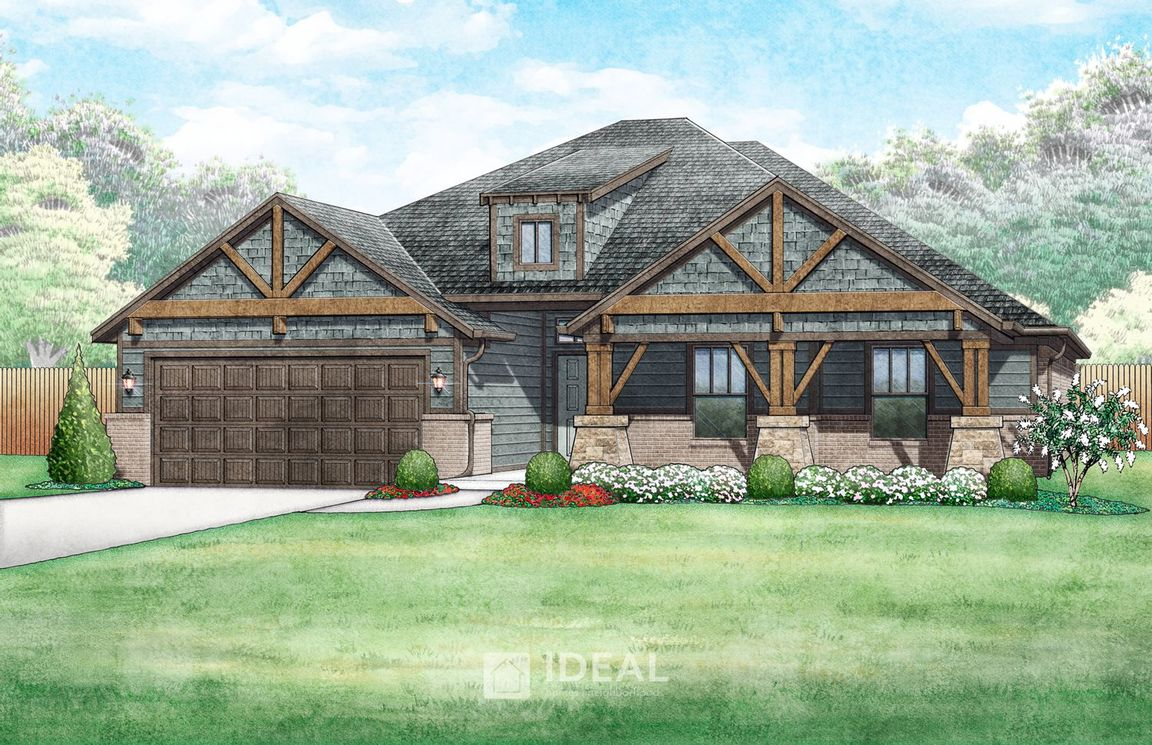 Ready To Build Home In Castlewood Trails Community