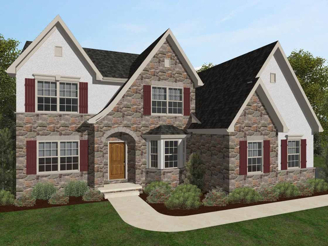 Ready To Build Home In Bishop Woods Community