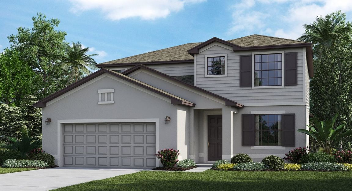 Ready To Build Home In Portico - Executive homes Community