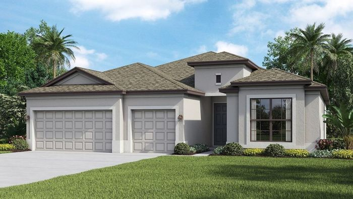 Ready To Build Home In Portico - Manor homes Community