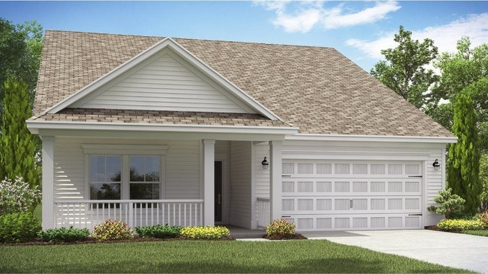 Ready To Build Home In Belle Harbor - Arbor Collection Community