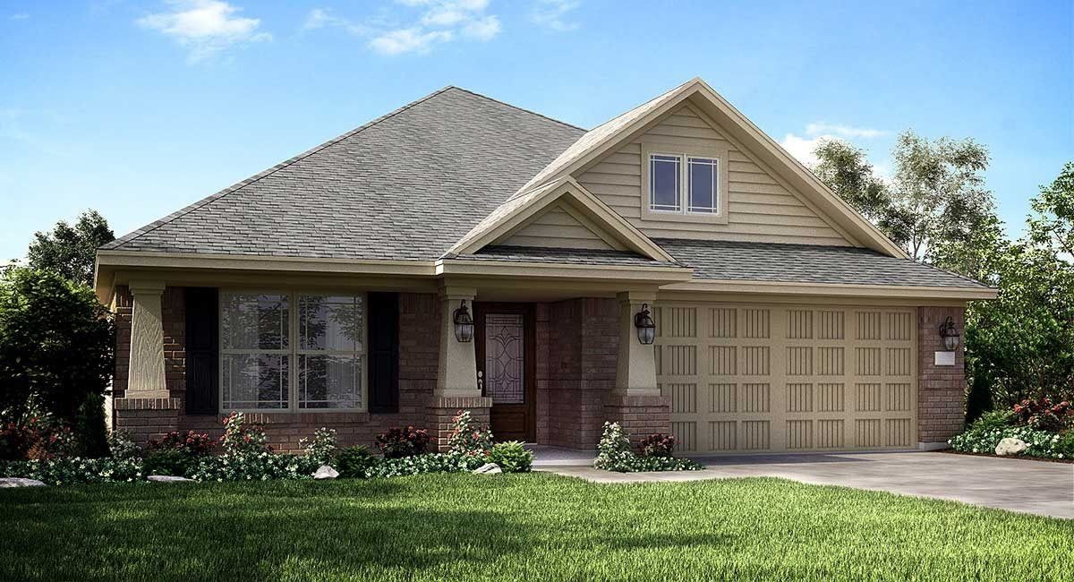 Ready To Build Home In The Groves - Brookstone Collection Community