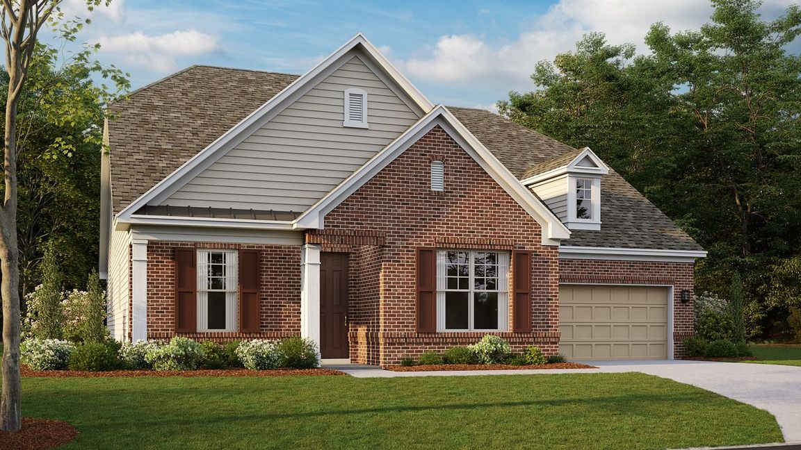 Ready To Build Home In Hunton Forest Community