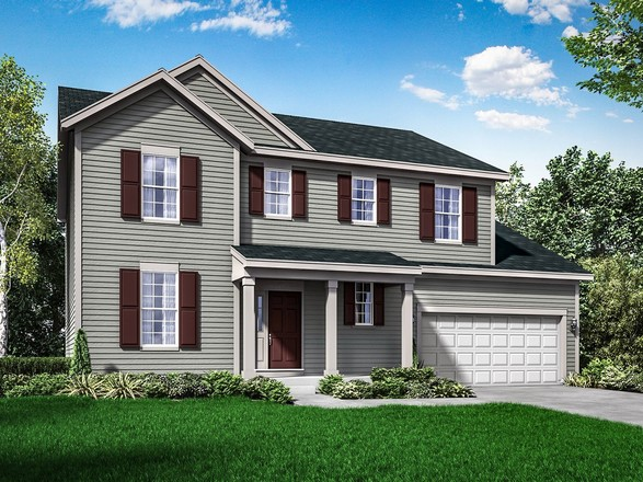 Ready To Build Home In Stoner Prairie Community