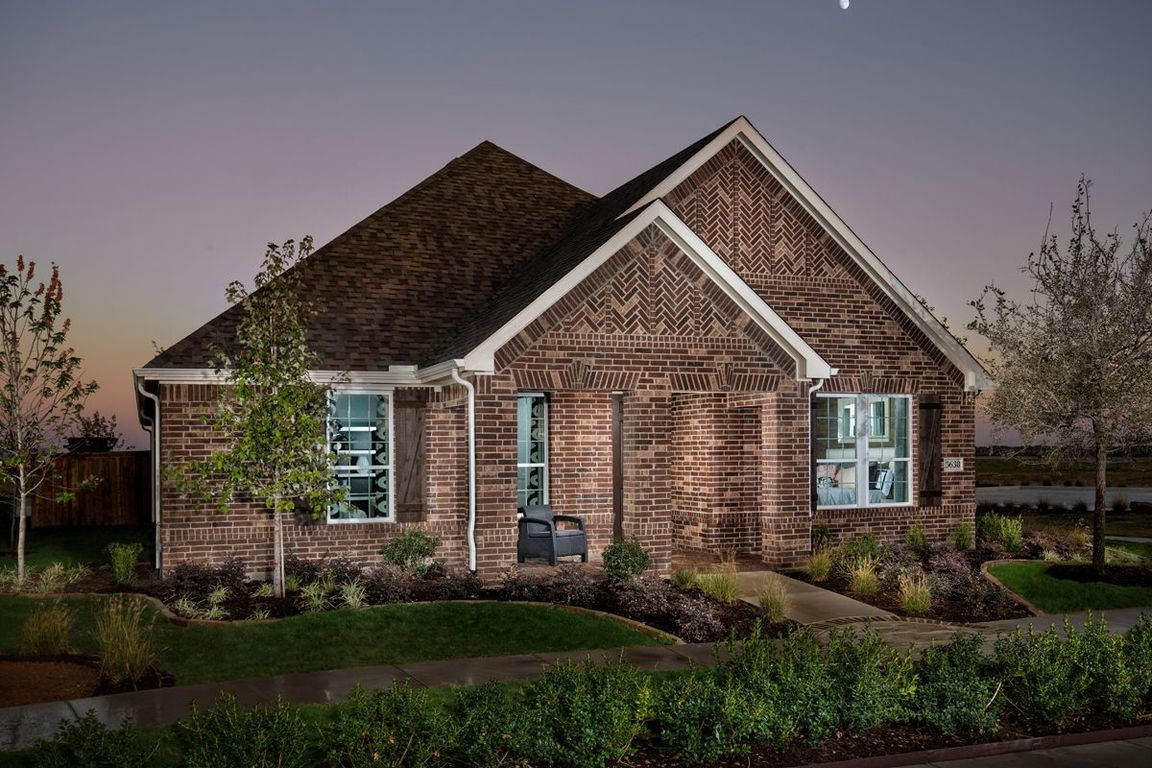 Ready To Build Home In Retreat at Stonebriar Community
