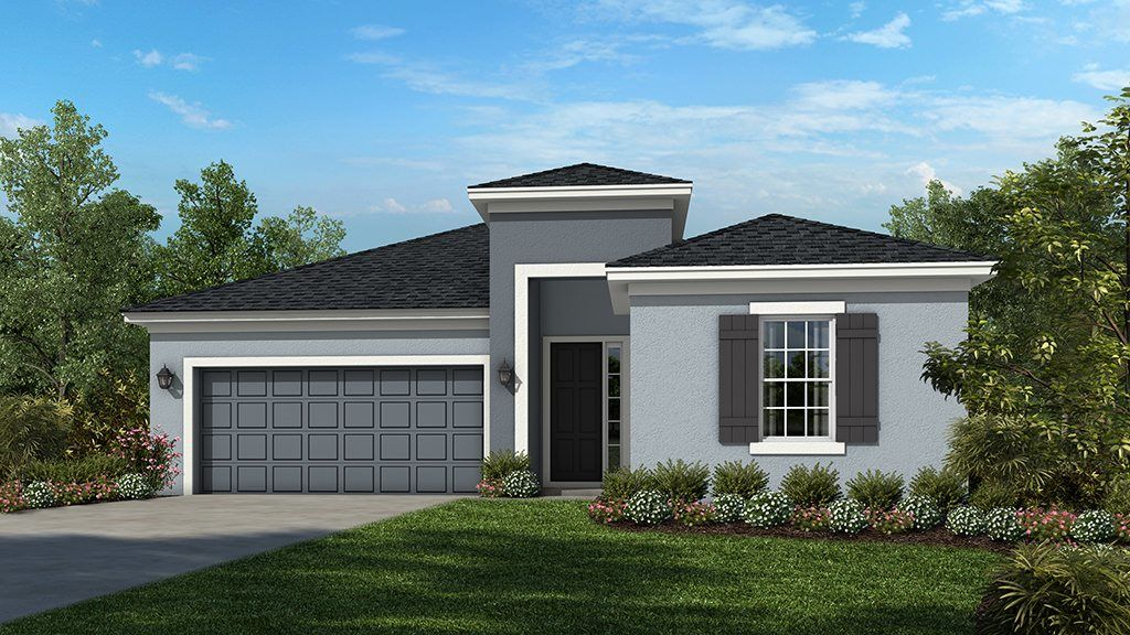 Ready To Build Home In Woodland Park Community