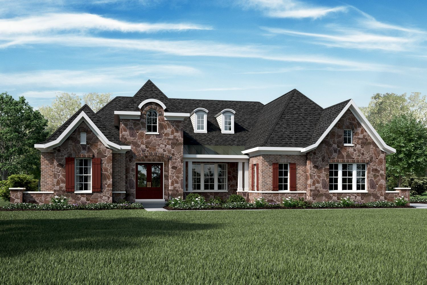 Ready To Build Home In Thorpe Creek - The Woods Community