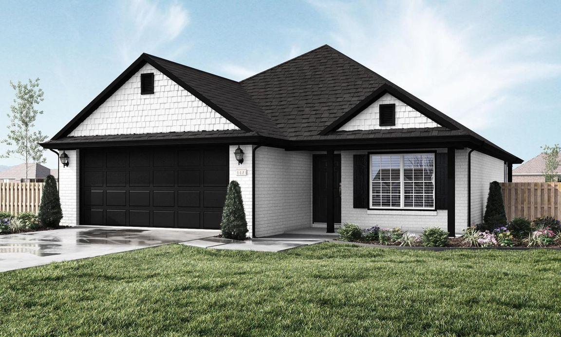 Ready To Build Home In Sloanbrooke Community