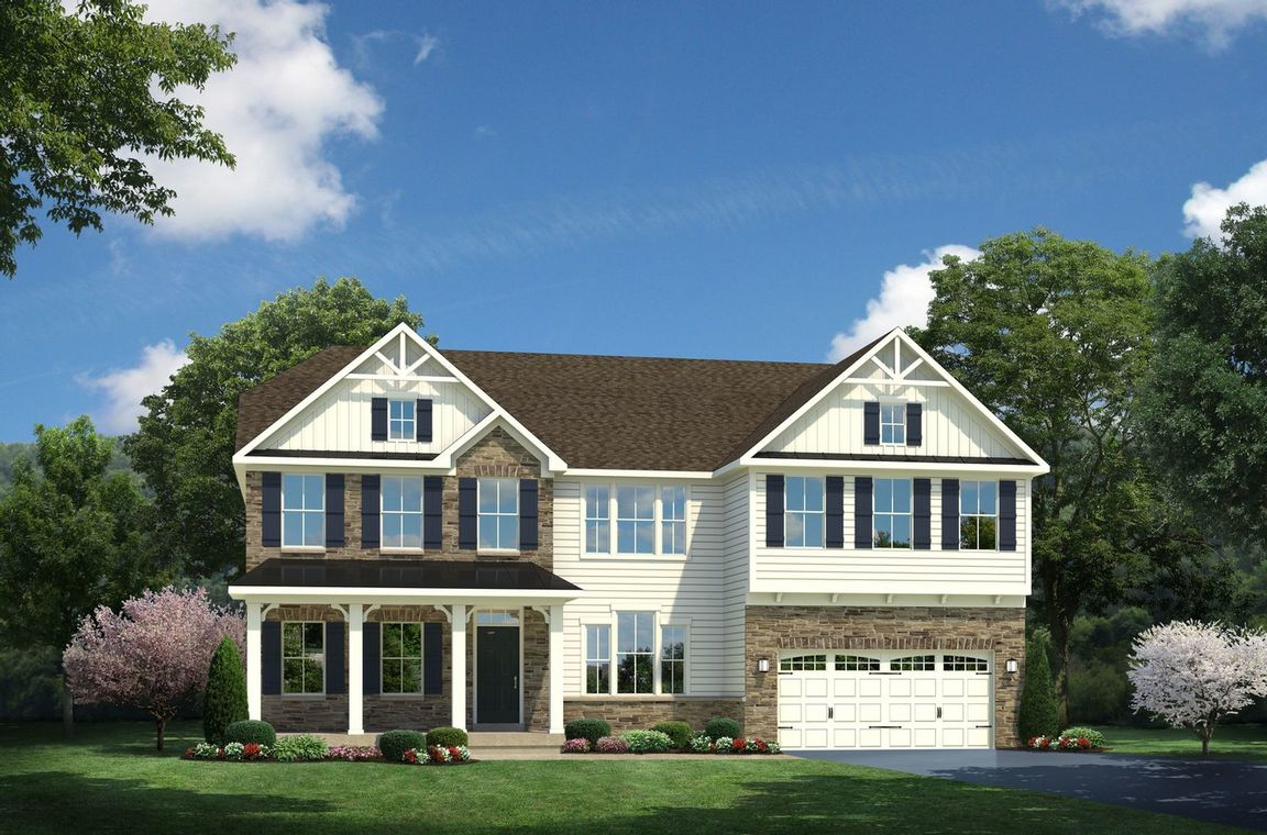 Ready To Build Home In Warrenton Chase Community