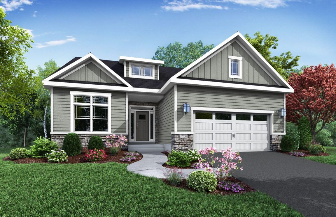 Ready To Build Home In Brookfield Estates Community