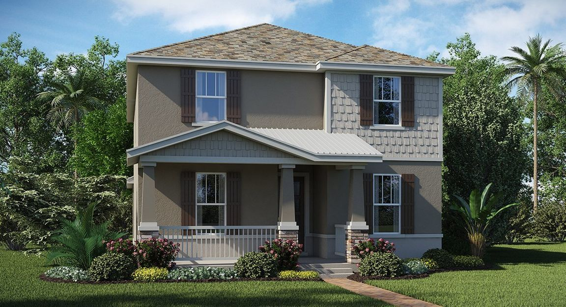 Delray At Innovation At Panther View   Panther View Manors. Winter Garden  ...
