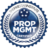 Five Star Property Management Certified