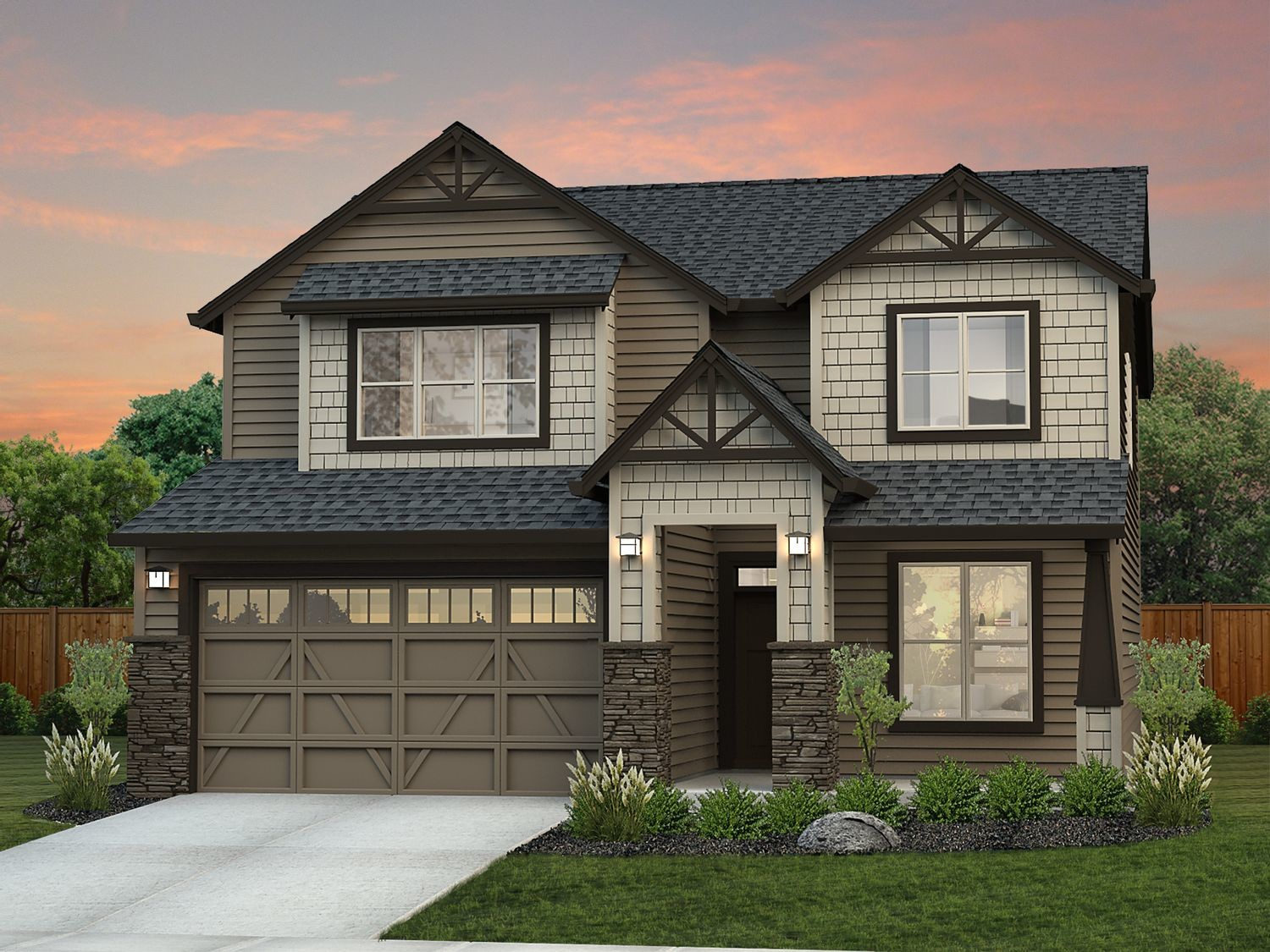 Ready To Build Home In Badger Mountain South - West Village Community
