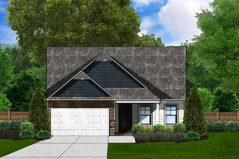 Ready To Build Home In Cassique Community