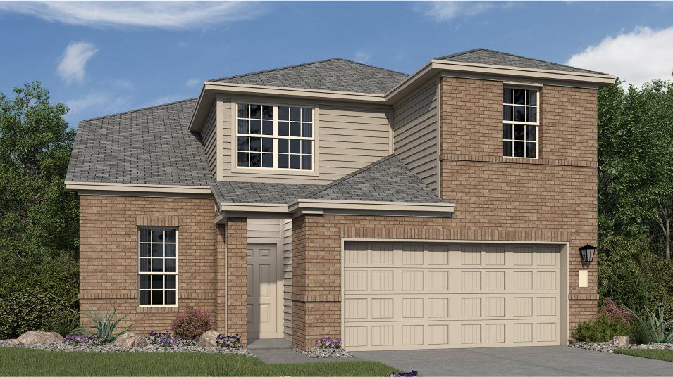 Ready To Build Home In Voss Farms - Barrington Collections Community