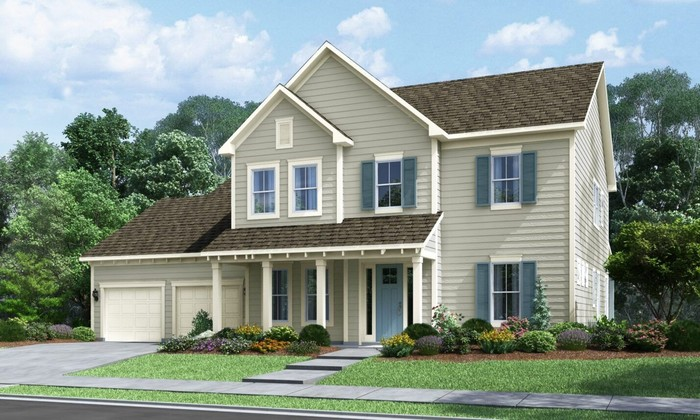 Ready To Build Home In Paddlers Cove Community