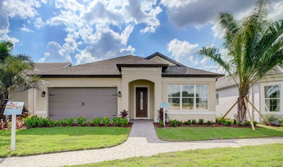 Ready To Build Home In K. Hovnanian's Four Seasons at Orlando Community