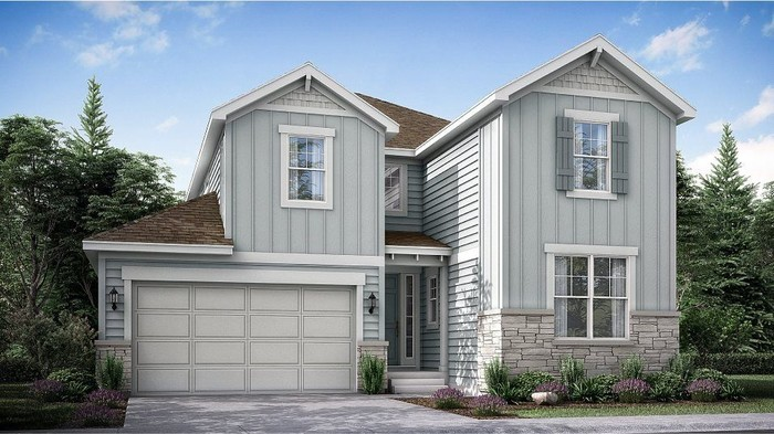 Ready To Build Home In Sterling Ranch - The Elements Collection Community