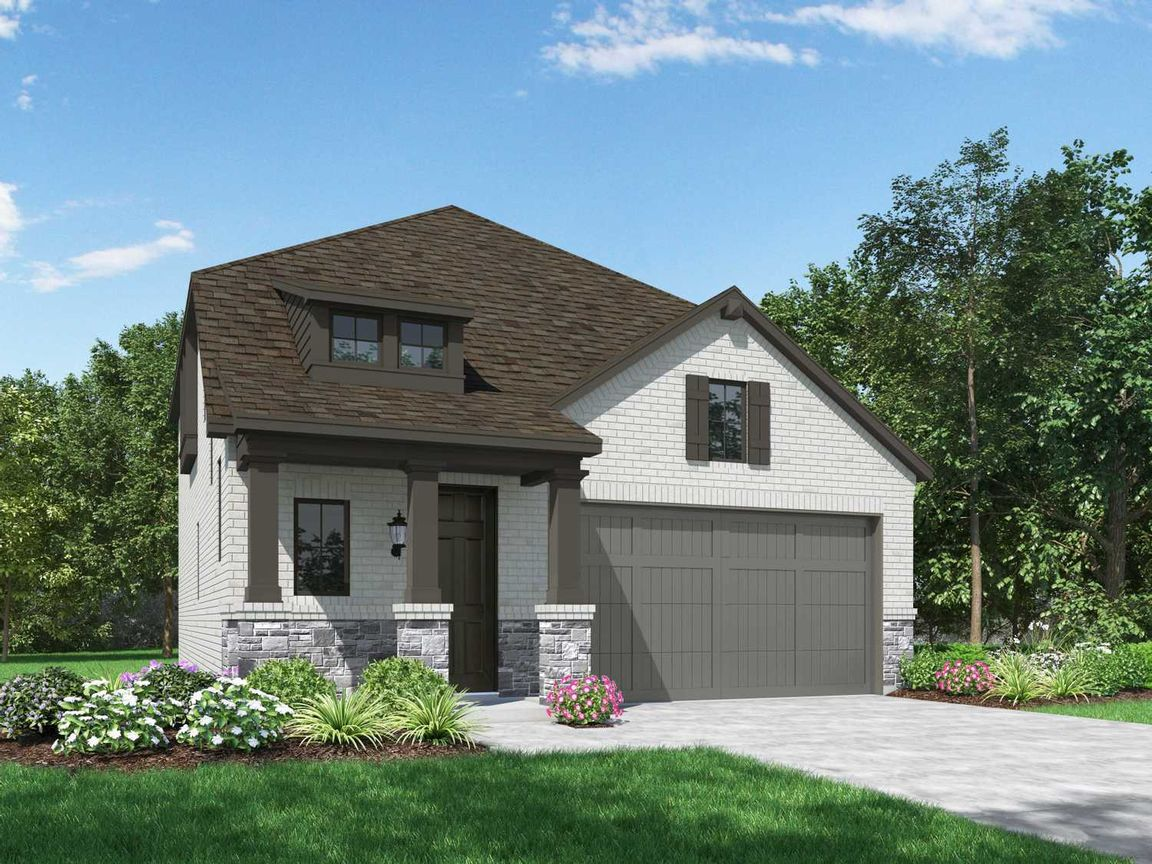Ready To Build Home In Meridiana: 40ft. lots Community
