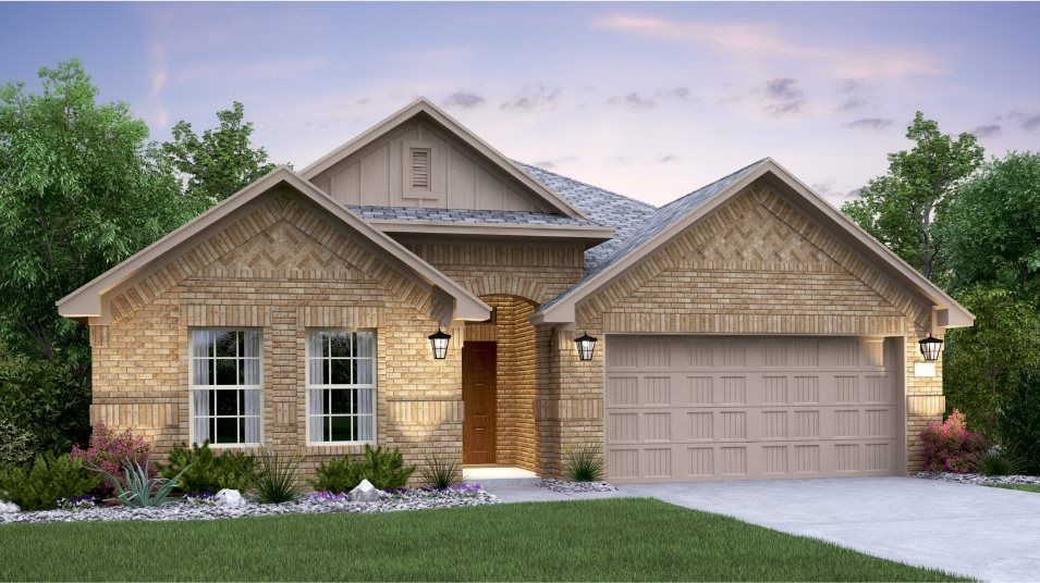 Ready To Build Home In Hidden Trails - Brookstone II Collection Community