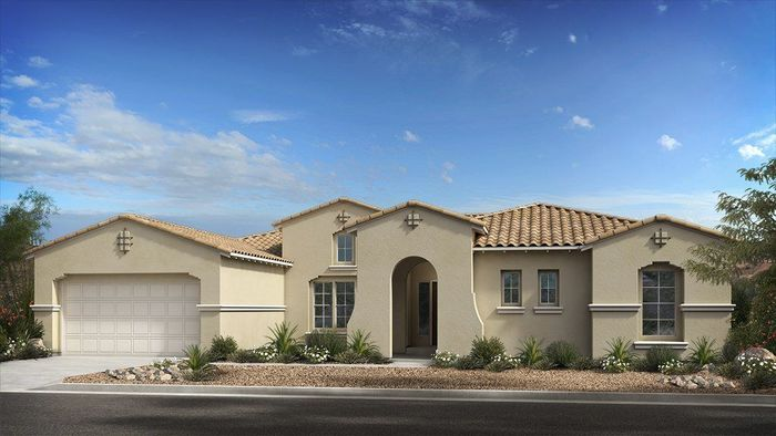Ready To Build Home In Estates at Eastmark Summit Collection Community