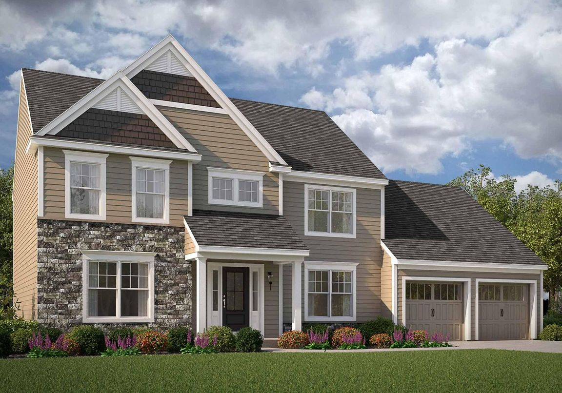 Ready To Build Home In Highland Ridge at Winding Hills Community