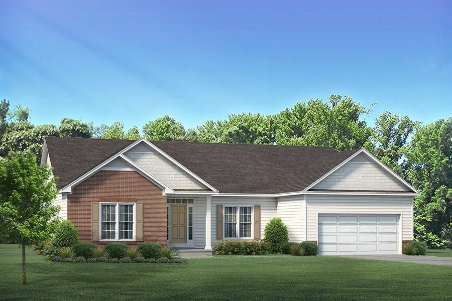 Ready To Build Home In Ashcroft Place Community