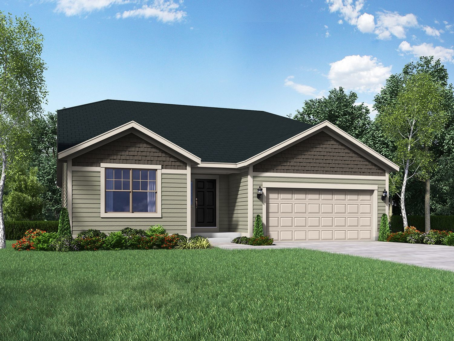 Ready To Build Home In Sussex Preserve Community