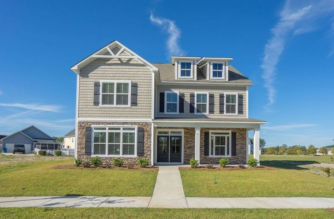 Move In Ready New Home In Rice Hope Community