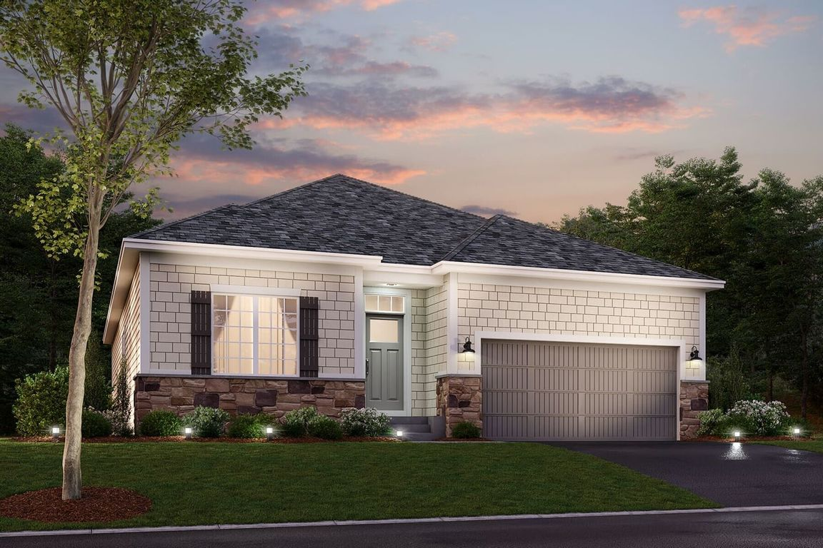 Ready To Build Home In Adelaide Landing Community