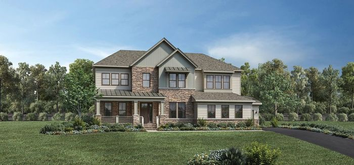 Ready To Build Home In Lenah Mill - The Estates Community