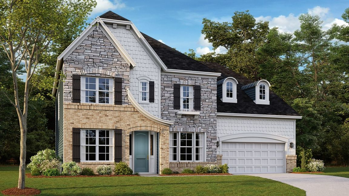 Ready To Build Home In Holcomb Woods Community