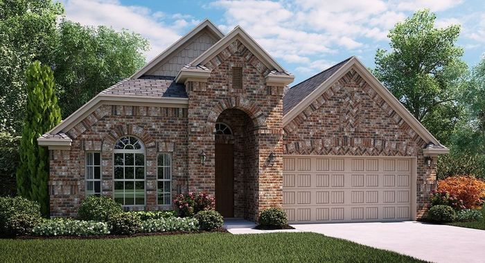 Ready To Build Home In Lakewood Hills South Community
