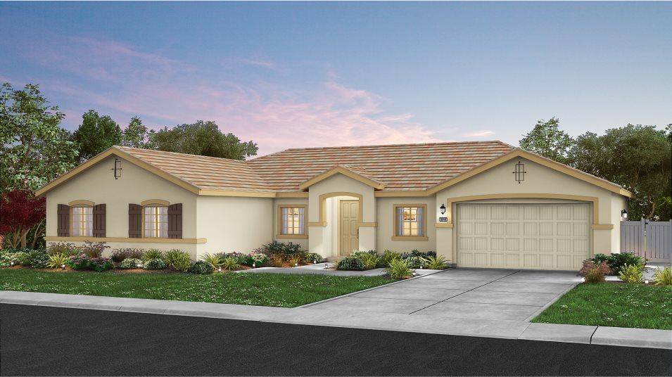 Ready To Build Home In Sonoma Ranch Community
