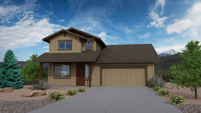 Ready To Build Home In Flagstaff Meadows Community