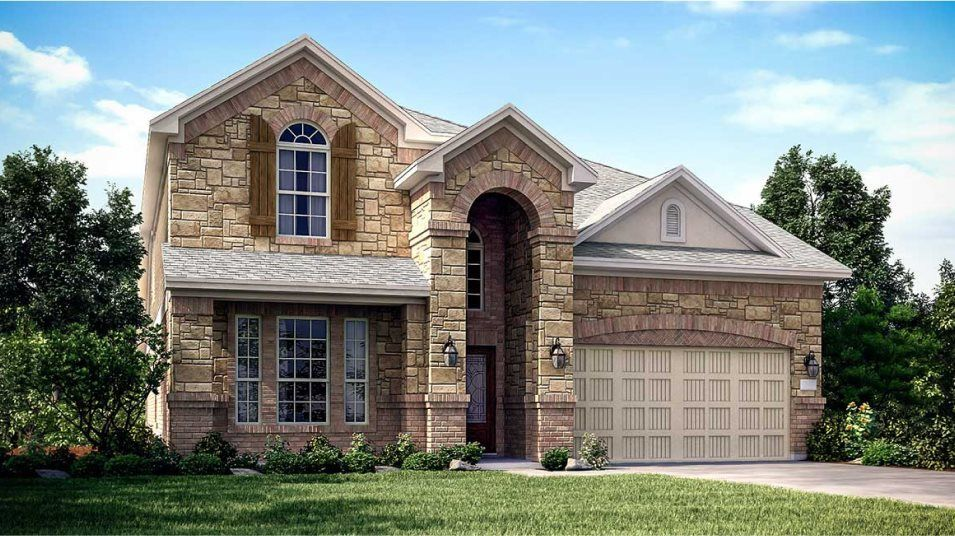 Ready To Build Home In Sienna - Brookstone Collection Community