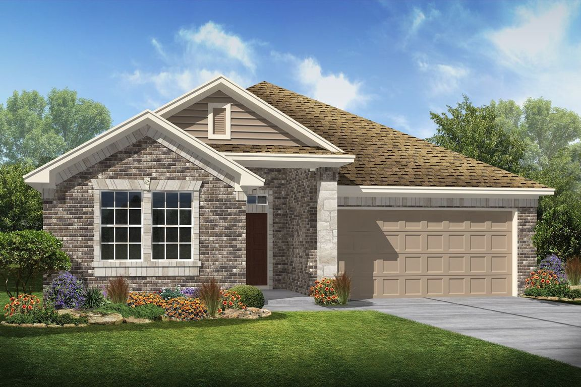 Ready To Build Home In Dry Creek Village Community