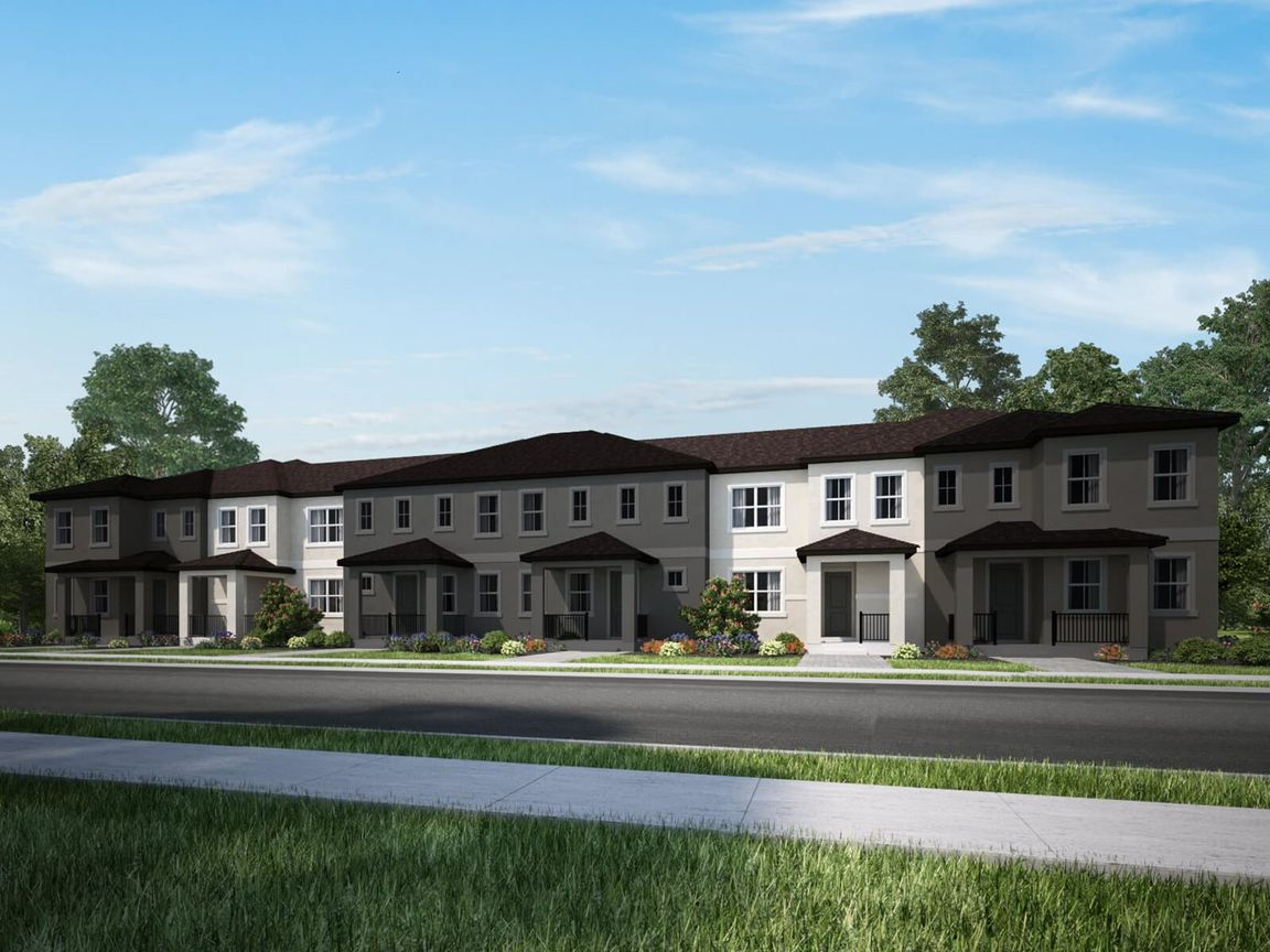 New homes from Meritage Homes in Winter Garden, FL