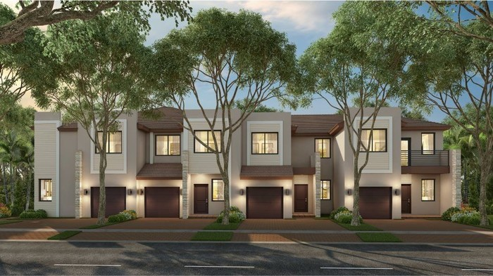 Ready To Build Home In Via Ventura - Townhomes Community