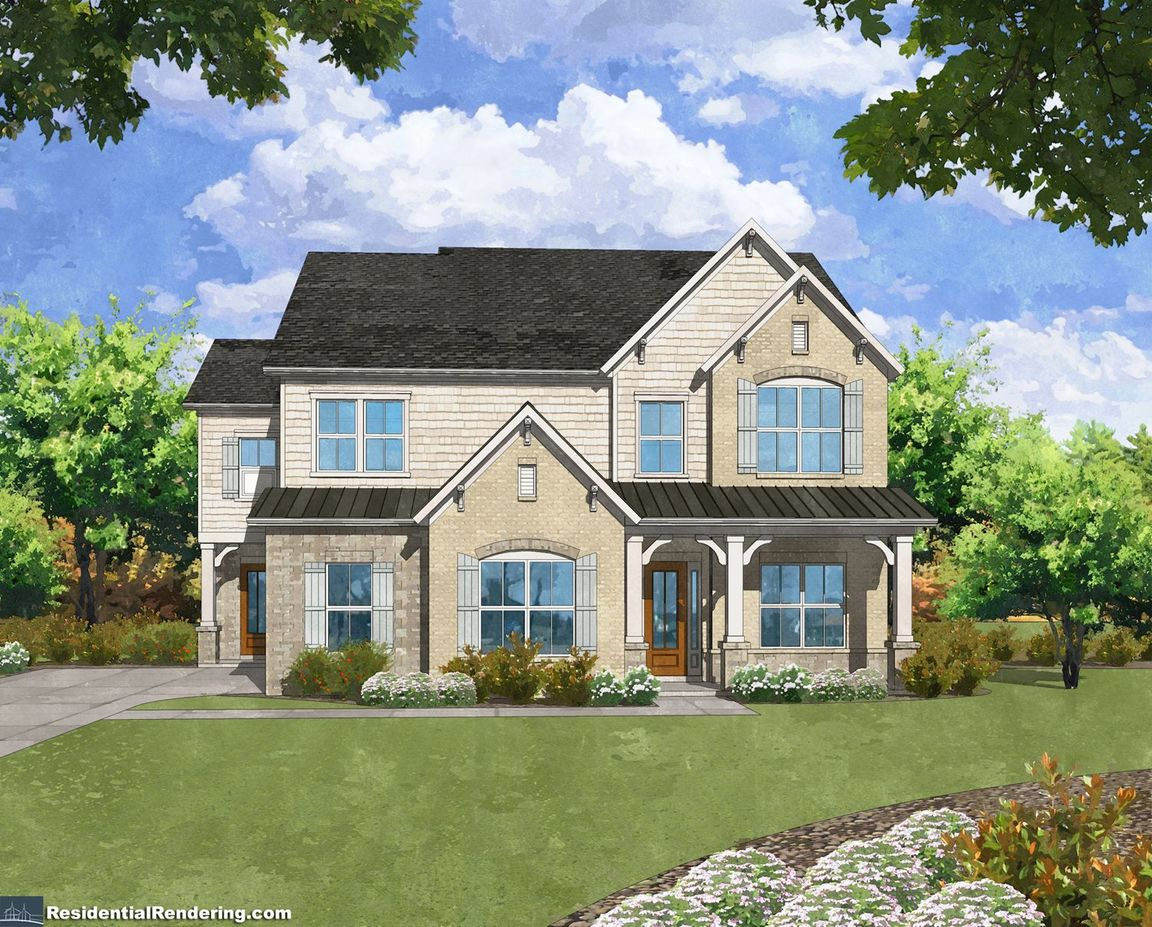 Ready To Build Home In Kyle Farm Community