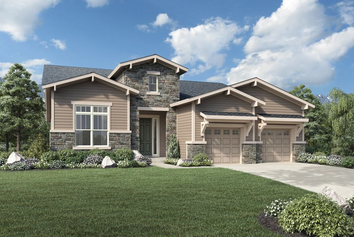 Ready To Build Home In North Hill - The Point Collection Community