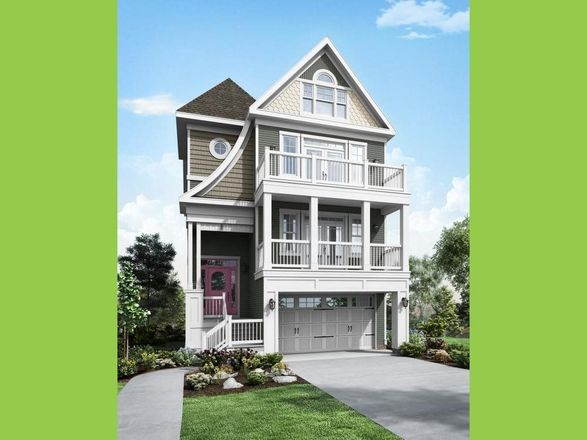 Ready To Build Home In Sunset Harbour at Bethany Beach Community