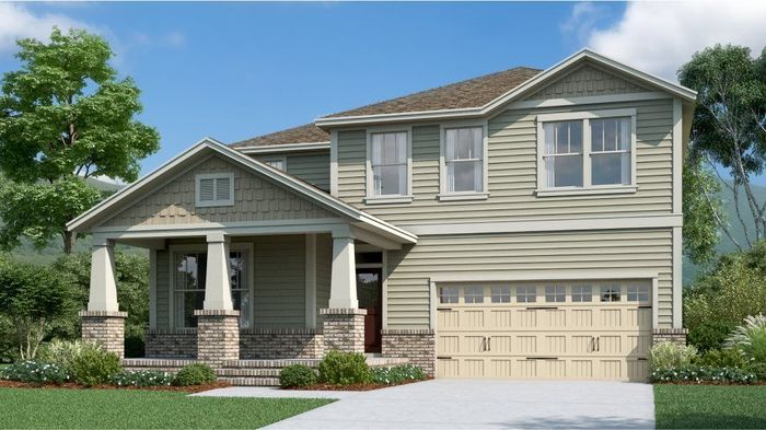 Ready To Build Home In Harvest Point - Classic Parks Collection Community