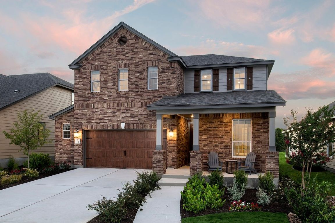 Ready To Build Home In Stagecoach Crossing Community