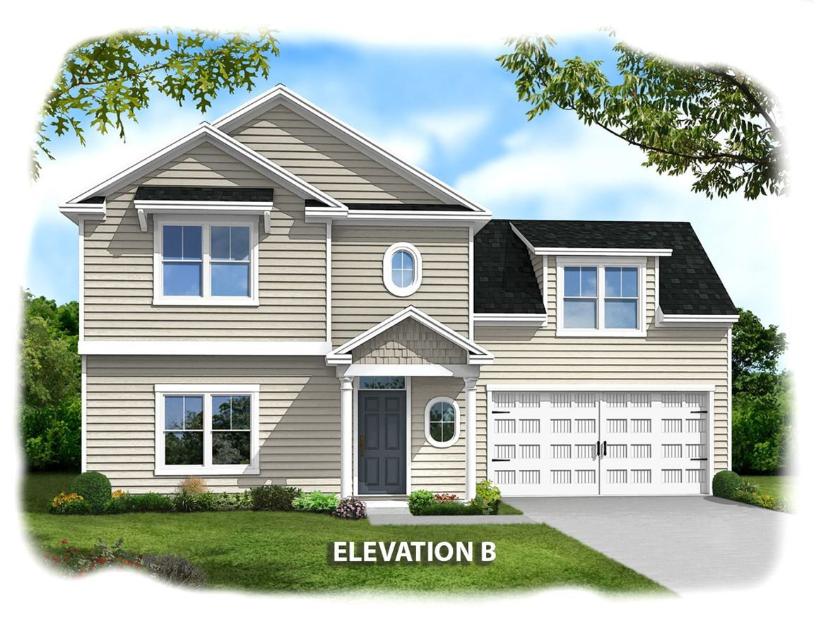 Ready To Build Home In Derrick Landing East Community