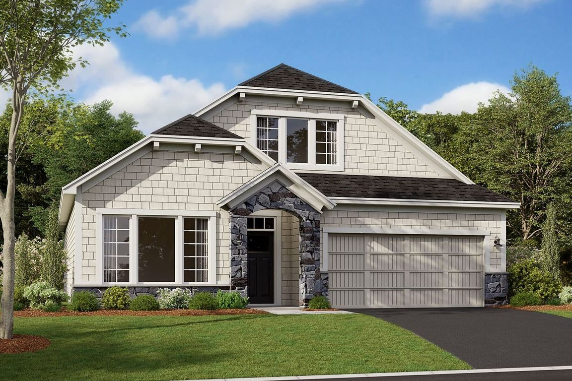 Ready To Build Home In Haven Ridge Community